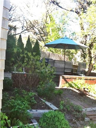 Chatham Cape Cod vacation rental - Private patio area with grill and chimenea.