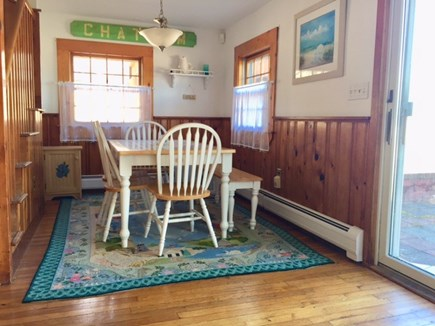 Chatham Cape Cod vacation rental - Dining area off kitchen seats 6