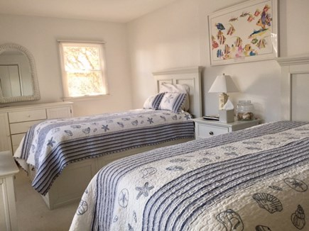 Chatham Cape Cod vacation rental - Second floor bedroom has twin beds.