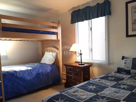 Chatham Cape Cod vacation rental - Second floor bedroom with bunk bed and one twin bed.