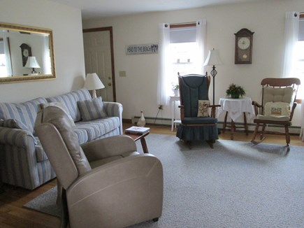 Brewster Cape Cod vacation rental - Relax and enjoy our comfortable living room.