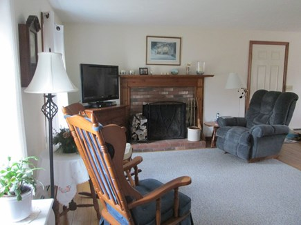 Brewster Cape Cod vacation rental - DVD and Comcast TV available.  Also high speed internet.