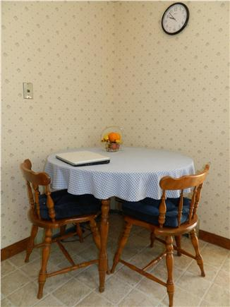 Brewster Cape Cod vacation rental - Breakfast nook, wireless internet available.