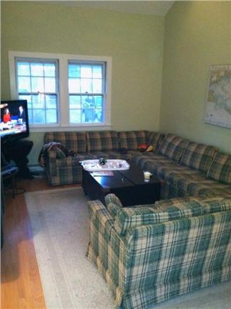Osterville Osterville vacation rental - Large family room with TV and wrap around couch