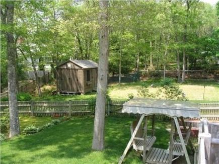 Osterville Osterville vacation rental - Back yard area