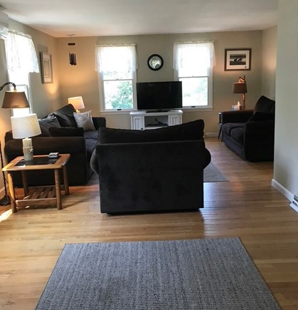 North Eastham Cape Cod vacation rental - Freshly painted family room
