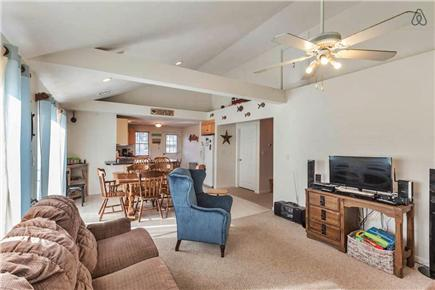 Onset MA vacation rental - Airy Living Room