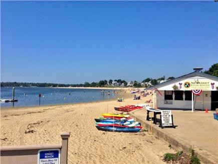 Onset MA vacation rental - Onset Beach with Kayak Rentals.