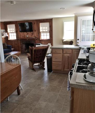 West Harwich Cape Cod vacation rental - View to living room from kitchen