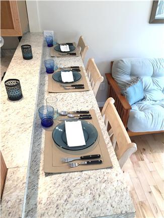 Eastham Cape Cod vacation rental - Informal breakfast bar