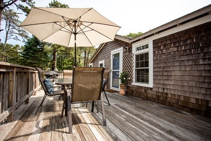 Eastham Cape Cod vacation rental - Outdoor dining and grill on the large wrap around deck