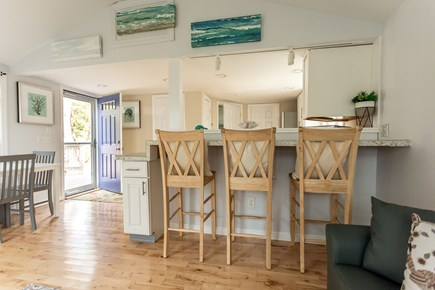 Eastham Cape Cod vacation rental - Breakfast bar and dining room area