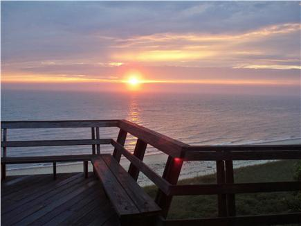 Truro Cape Cod vacation rental - Sunset over the Bay ….