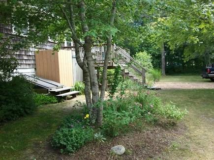 South Harwich Cape Cod vacation rental - Back yard