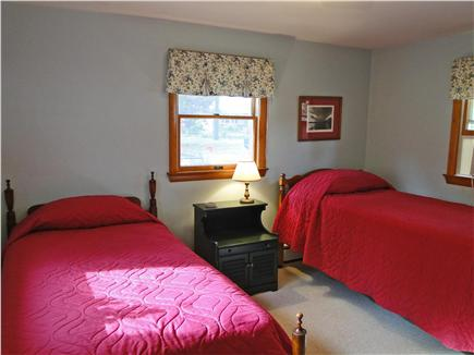 Eastham Cape Cod vacation rental - Front bedroom with two twin beds