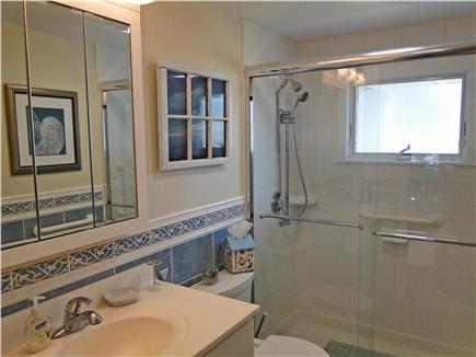 Eastham Cape Cod vacation rental - Full upstairs bath w/walk in shower