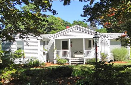 Eastham Cape Cod vacation rental - Front of house with sitting porch
