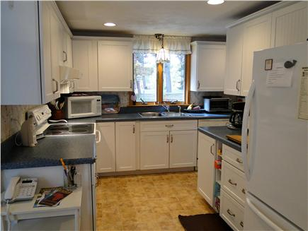 Eastham Cape Cod vacation rental - L shaped recently remodeled kitchen
