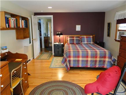 Eastham Cape Cod vacation rental - Spacious Master bedroom with slider to deck overlooking water