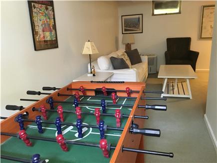 Eastham Cape Cod vacation rental - Lower Level & Fusbol