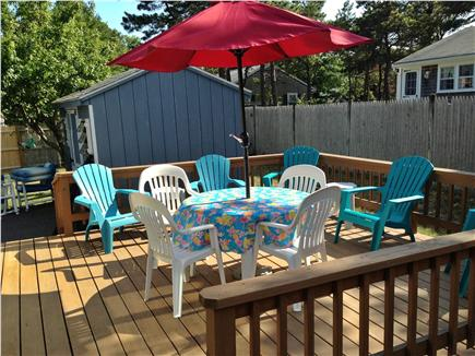West Dennis Cape Cod vacation rental - Relax on the deck!