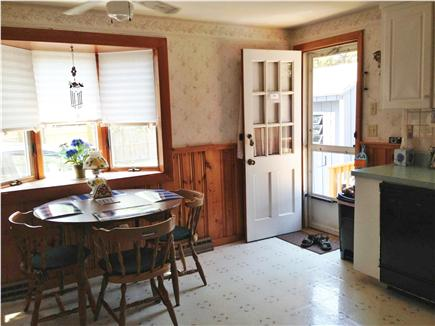 West Dennis Cape Cod vacation rental - Kitchen table