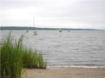 Wareham MA vacation rental - Shoreline in front of the house