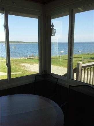 Wareham MA vacation rental - View from the screen porch