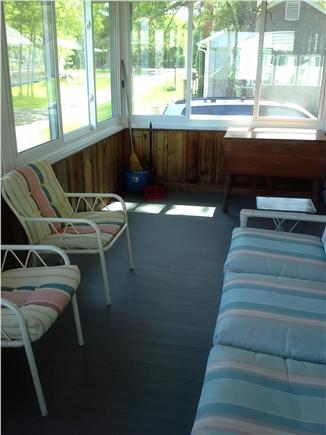 Wareham MA vacation rental - Screen porch