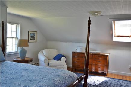 East Falmouth Cape Cod vacation rental - Master Bedroom with salt water views from the skylight