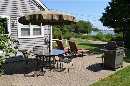 East Falmouth Cape Cod vacation rental - Enjoy your morning coffee or barbecues w/salt water views
