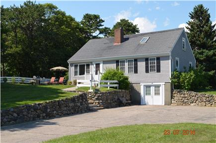 East Falmouth Cape Cod vacation rental - Large yard for all you games incl. Basketball Net and Soccer Net