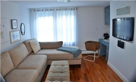 East Falmouth Cape Cod vacation rental - Family Room with Computer and TV