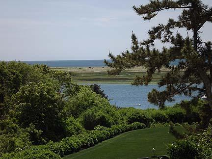 Chatham Cape Cod vacation rental - Views from upper deck, backyard, Oyster River and Nantucket Sound
