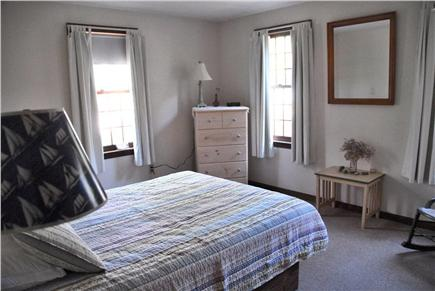 Wellfleet Cape Cod vacation rental - Downstairs bedroom with queen bed and air conditioning