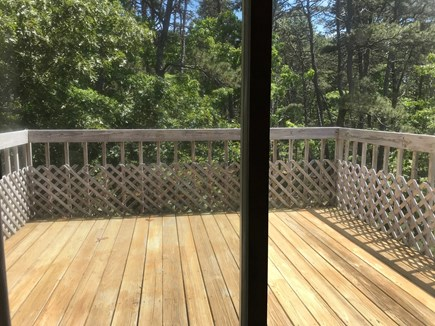 Wellfleet Cape Cod vacation rental - Newly built private deck off of Master Bedroom