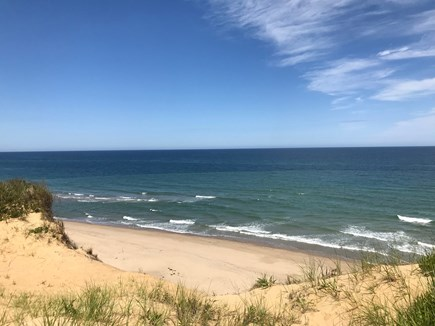 Wellfleet Cape Cod vacation rental - Marconi Beach is just about 2 miles away