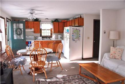 Wellfleet Cape Cod vacation rental - View of sunny, open living/dining/kitchen area