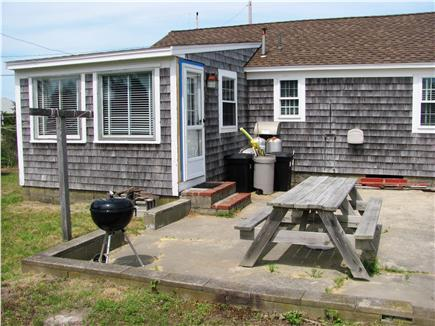 West Dennis Cape Cod vacation rental - Patio area
