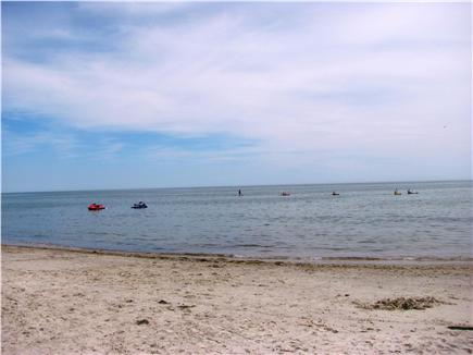 West Dennis Cape Cod vacation rental - Beach at the end of the road