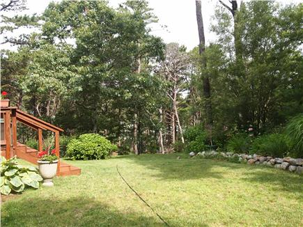 Wellfleet Cape Cod vacation rental - Private Backyard