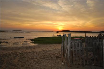 Wellfleet Cape Cod vacation rental - Walk to Bay Beach: 1 Mile great to launch kayak or paddle board.