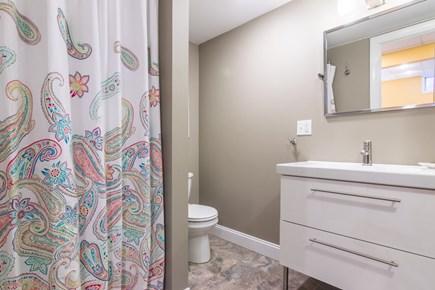 Wellfleet Cape Cod vacation rental - Lower level bath.