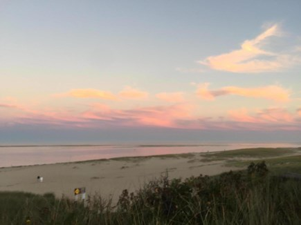 Chatham Cape Cod vacation rental - Sunset at Lighthouse Beach