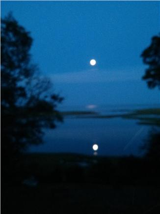 Chatham Cape Cod vacation rental - Full moon rising over the water. Just stunning