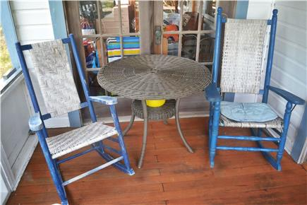 Chatham Cape Cod vacation rental - Screen porch and rocking chairs