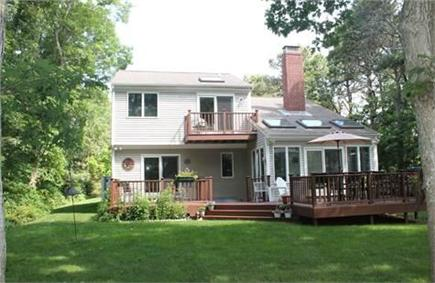 Harwich Cape Cod vacation rental - Back of House and Great Back yard