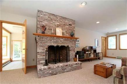 Harwich Cape Cod vacation rental - Downstairs Living Room
