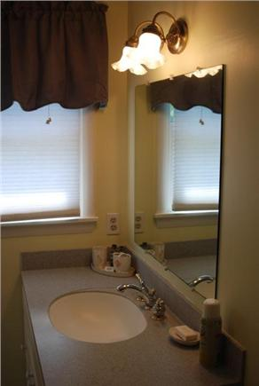 Falmouth Cape Cod vacation rental - Master bathroom with shower