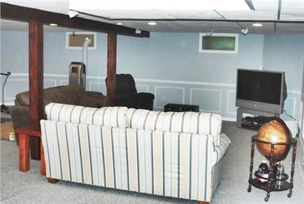 Falmouth Cape Cod vacation rental - Basement apartment living area